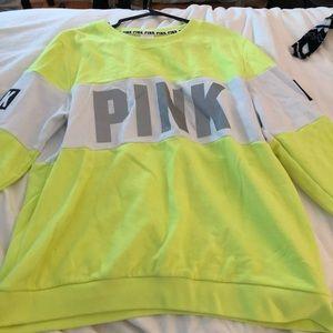 PINK sweatshirt .